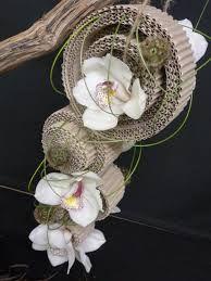 ribkarton, carton floral art