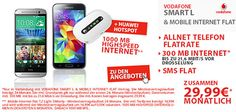 Vodafone Smart L mit bis zu 1800 MB Internet und TOP-Smartphone für 1€ http://www.simdealz.de/vodafone/smart-l-mit-1800-mb-und-top-smartphone/