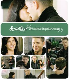 Dean and Lisa - deep down I really did hope Dean was Ben's DAD!! :D