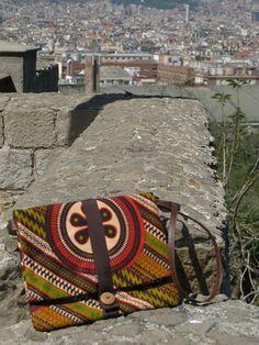 La tricoteca: Los bolsos de telas africanas nuevos de este año!!