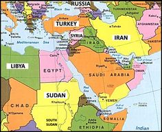 map middle east countries | map-of-middle-east-countries-and-capitals ...