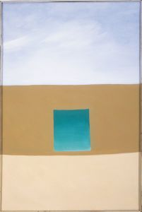 "Georgia O'Keeffe ""Green Patio Door"" 1955 (Special Exhibit at the San Diego Museum of Art)"