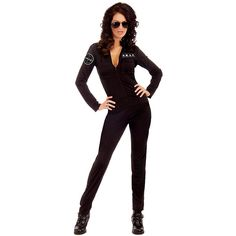 SWAT Woman Sexy Police Adult Costume ($35) ❤ liked on Polyvore featuring costumes, halloween costumes, multicolor, deluxe womens halloween costumes, sexy women costumes, adult women costumes, sexy holiday costumes and sexy halloween costumes