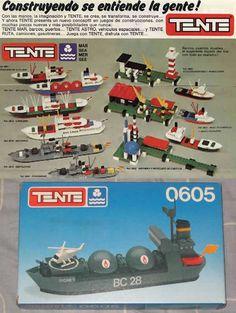 Juegos, juguetes y artículos antiguos- Tente