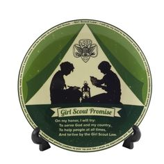 NEW Vintage Promise and Law Plate - $17.00