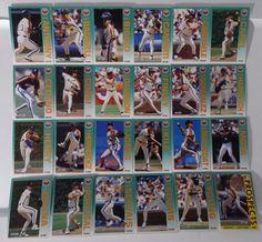 1992 Fleer Houston Astros Team Set of 24 Baseball Cards #Fleer #HoustonAstros