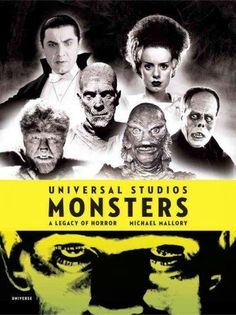 From the 1920s through the 1950s, Universal Studios was Hollywoods number one studio for horror pictures, haunting movie theaters worldwide with Dracula, Frankenstein, and the Creature from the Black