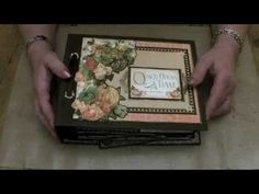 An Eerie Tale Album - Graphic 45 - YouTube This gal is amazing!