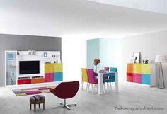 awesome Renkli Yemek Odası Modelleri