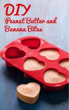 Your Dog Makes The Best Valentine Spoil your dog this Valentines Day with these simple DIY Peanut Butter and Banana treats!Spoil your dog this Valentines Day with these simple DIY Peanut Butter and Banana treats! Puppy Treats, Diy Dog Treats, Homemade Dog Treats, Dog Treat Recipes, Healthy Dog Treats, Dog Food Recipes, Dog Training Methods, Basic Dog Training, Training Dogs