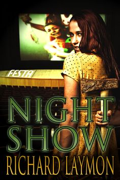 Book cover design for NIGHT SHOW by Richard Laymon