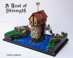 (LCC) Fortifying the River. : A LEGO® creation by Mark Erickson : MOCpages.com