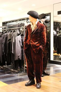 TODAY'S ISETAN MEN'S STYLIST|<YOHJI YAMAMOTO>