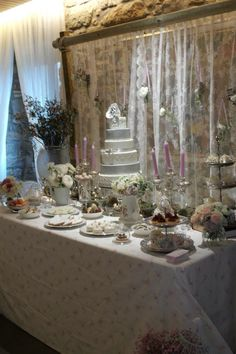 Luxury sweet table / Candy bar