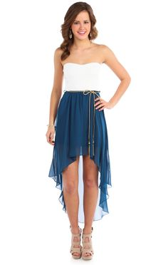 Deb dress/ save money and do this for a country theme for the bridesmaids
