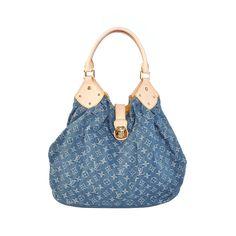 Louis Vuitton XL Blue Totes