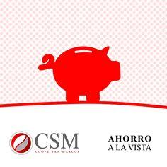 Recuerde que en Coope San Marcos puede utilizar el ahorro a la vista, sistema con el que el asociado puede depositar dinero, que podrá retirar en períodos muy cortos de tiempo. Si así lo desea, podrá solicitar una tarjeta de débito asociada a la cuenta, o una superlibreta de ahorro.