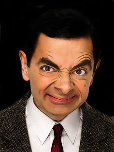 Image Search Results for mr Mr Bean - Rowan Atkinsonbean Mr. Bean, Rowan, Funny Faces Images, Mr Bean Cartoon, Mr Bean Funny, Blackadder, British Comedy, British Actors, Cultura Pop