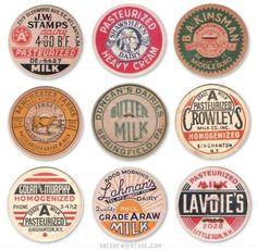 Image result for milk bottle caps