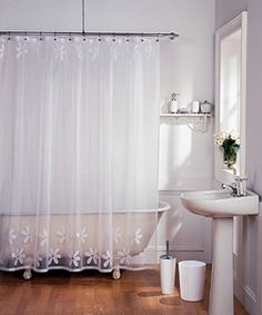 Beau Lace Shower Curtain | Home | Pinterest | Lace Shower Curtains, Bath And  Creole Cottage