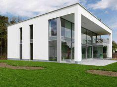 Plattegrond moderne bungalow google zoeken nieuwe idee n voor huis pinterest bungalows - Moderne huis gevel ...