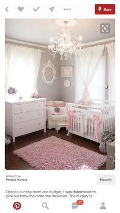 Fee-Kinderzimmer-Wand-Druck, Baby Mädchen Rosa und grau Fairy Wand ...