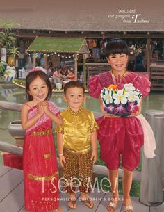 "Thailand - As featured in ""My Very Own World Adventure"" personalized children's book by I See Me!"