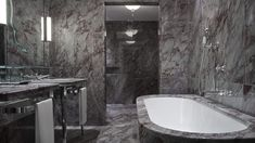 Palatial Relaxation in this beautifuly Marbled bathroom @ The Gritti Palace, A Luxury Collection Hotel, Venice, Italy