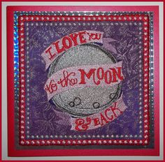 """Personalised, Machine embroidered, handmade """"Til Death Do Us Part"""