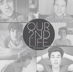 O2L- Sam Pottorff, JC Caylen, Trevor Moran, Kian Lawley, Connor Franta, and Ricky Dillon! <3 them <3