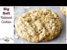 Classic big, soft oatmeal cookies recipe for classic cookies that taste like they came fresh from a bakery! This recipe is easy and an all-time favorite! Soft Oatmeal Cookies, Oatmeal Cookie Recipes, Cookie Desserts, My Recipes, Sweet Recipes, Baking Recipes, Dessert Recipes, Favorite Recipes, Best Oatmeal