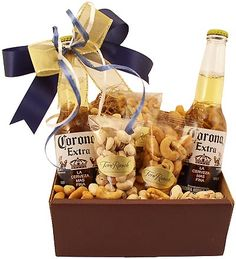 Corona Two Bottle Classic Beer Gift Box