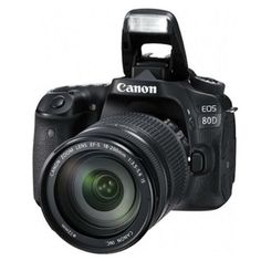 Canon EOS 80D 24.2MP Kit (18-200mm) Digital Cameras @ 11 % Off With FREE INSURANCE + 1 YEAR AUSTRALIAN WARRANTY. Order Now!!!!