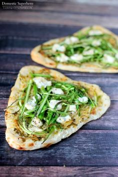 Herbed Asparagus & Goat Cheese Flatbreads 5