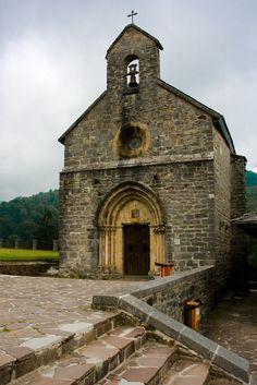 Iglesia de Santiago. Roncesvalles, Navarra.