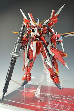 MG Aegis Gundam Prytwen Pack - Custom Build Modeled by kazumattyo Gundam Toys, Gundam Art, Astray Red Frame, Strike Gundam, Gundam Astray, Gamers Anime, Genesis Evangelion, Gundam Custom Build, Unicorn Gundam