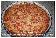 Picture Savory Muffins, Savory Tart, Savory Snacks, South African Recipes, Ethnic Recipes, Holy Spirit, Kos, Quiche, Macaroni And Cheese