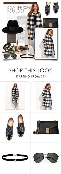 """""""romwe"""" by perfex ❤ liked on Polyvore featuring Calvin Klein, Amanda Rose Collection, Yves Saint Laurent and Gucci"""