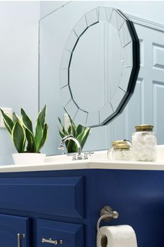Blue Vanity via The