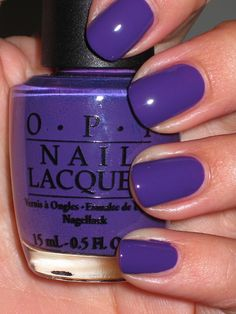 OPI Funky Dunkey Not crazy abt blue polish but this is really pretty!