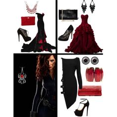 Black Widow Prom Dress