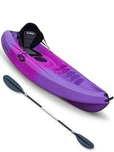 Pioneer Single Sit On Top Kayak Ultimate Bundle Mauve/Pink/Mauve