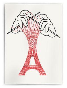 Eiffel Tower – Christoph Niemann, Visual Storyteller