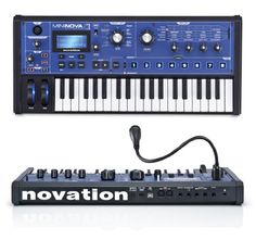 Novation MiniNova Mini-Keys Synthesizer http://www.instrumentssale.com/novation-mininova-mini-keys-synthesizer/