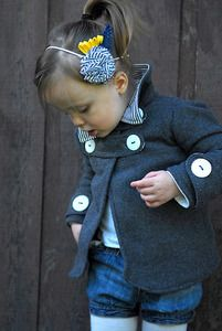 The Abbey Jacket pattern (12m-4T). So precious -- I wish it came in bigger sizes.