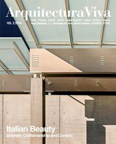 Arquitectura Viva no. 160 Feb. 2014  (Italian Beauty)