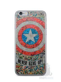 Capa Iphone 6/S Capitão América Comic Books #3 - SmartCases - Acessórios para celulares e tablets :)