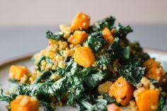 Kale and Butternut Squash Quinoa Recipe