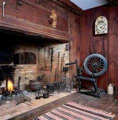 Image result for primitive fireplace mantels