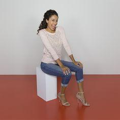 Just in! Essential Stretch Modern Straight Crop in Tribute #dENiZENStyleHunters #StyleHunters